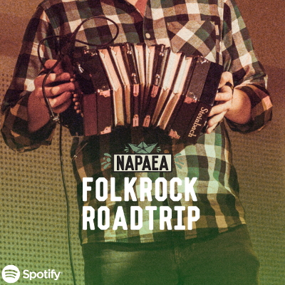 Folkrock Roadtrip Spotify Playlist by NAPAEA